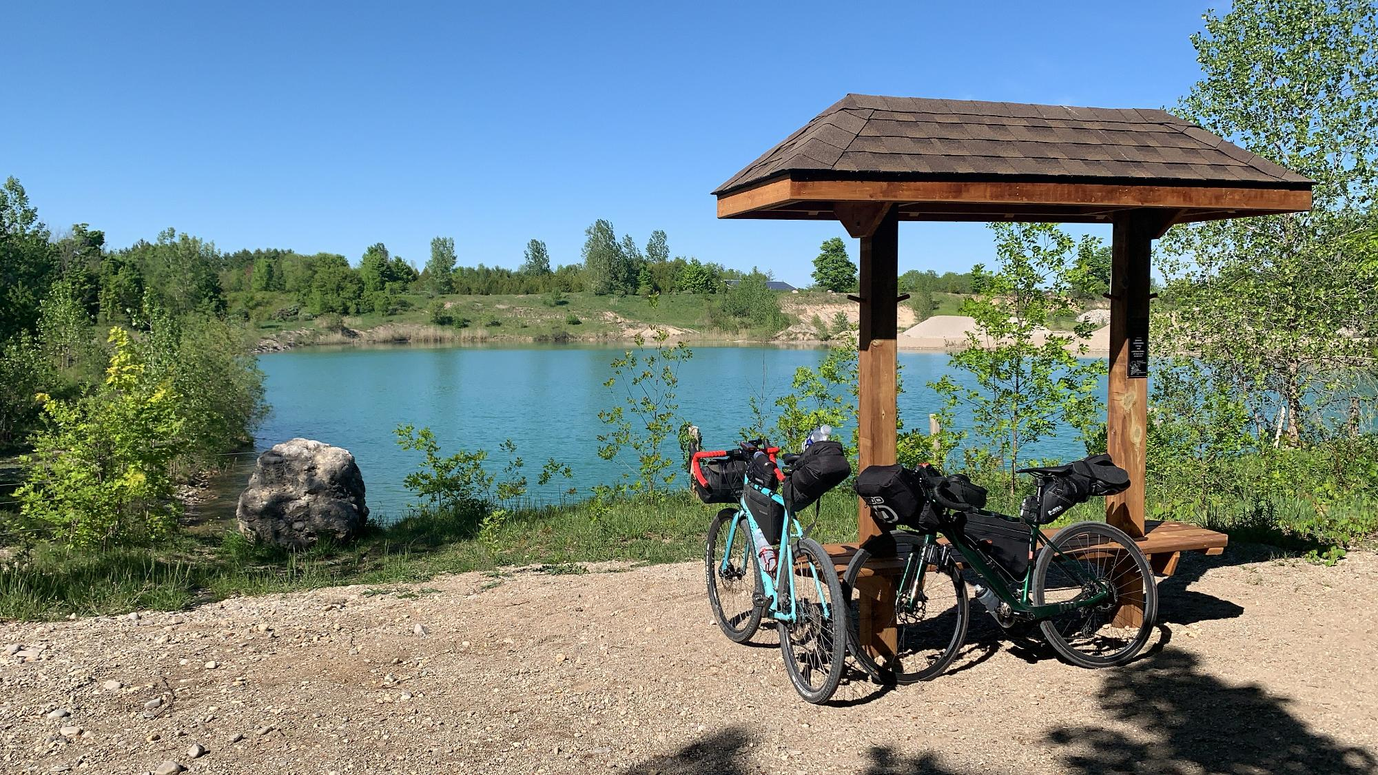 Is this best beginner bikepacking route in ON?