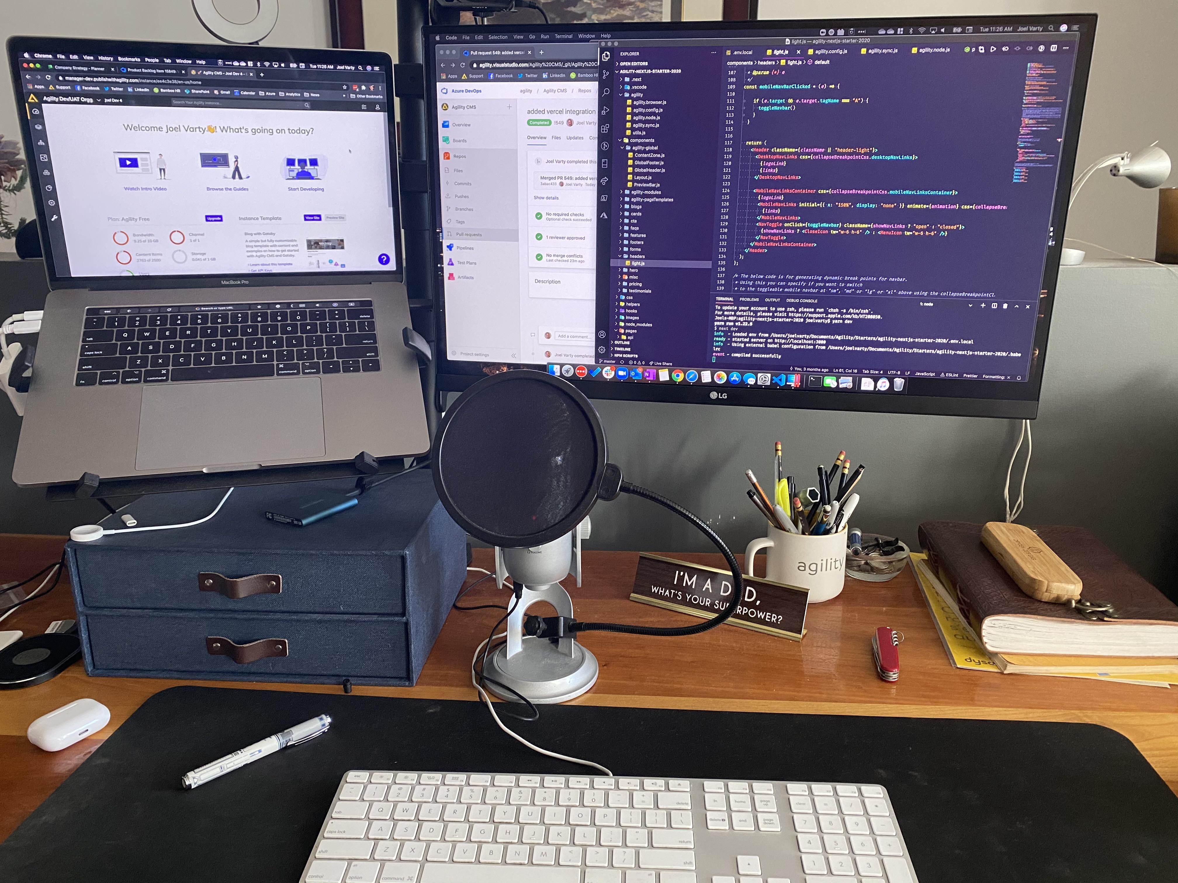 Joel's Desk