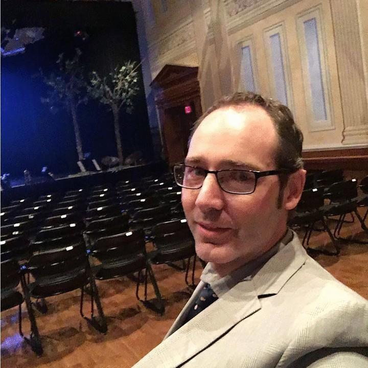 Joel in the theatre